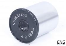 "Criterion A.R 18mm 1.25"" Vintage Eyepiece - Circle Y"