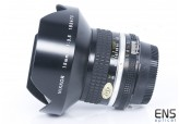 Nikon 15mm F3.5 AI-S Ultra Wide Angle Lens Filters & Case - Stunning C21