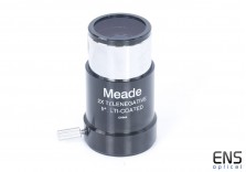"Meade 2x Telenegative Barlow Lens 1.25"""