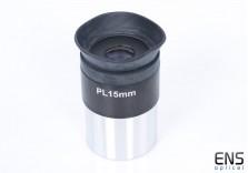 "Plossl 15mm 1.25"" eyepiece unbranded"