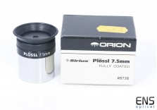 "Orion 7.5mm Sirius Plossl Eyepiece 1.25"""