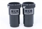 """Pair of 2x Barlow Lenses 1.25"""""""