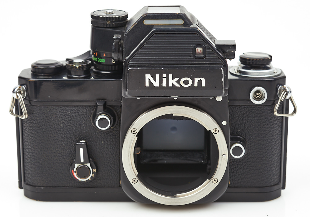 Nikon F2s photomic 35mm film SLR camera professional black body 7515853
