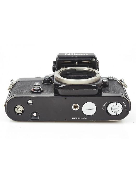 Nikon F2s photomic 35mm film SLR camera professional black body 7515853