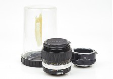 Nikon 55mm f/3.5 Micro Nikkor-P Macro prime lens with M2 extension tube 684148