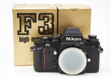Nikon F3 HP 35mm film SLR camera body Boxed Superb! 1640625
