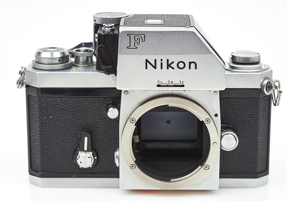 Nikon F Photomic FTn 35mm film SLR Chrome Professional Camera body 7431776