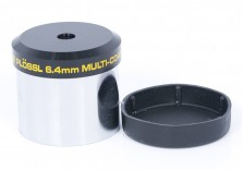 "Meade 6.4mm Smoothside Super Plossl Telescope Eyepiece - JAPAN - 1.25"""