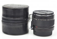 Vivitar 2x Matched Teleconverter for 75-205mm lens Nikon Ai Fit