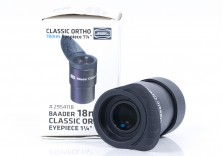 """Baader 18mm Classic Ortho Eyepiece Boxed - 1.25"""""""