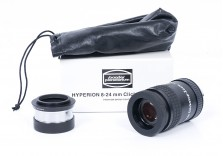 """Baader 8-24mm Hyperion Zoom Eyepiece Mark III With 2"""" Adapter!"""