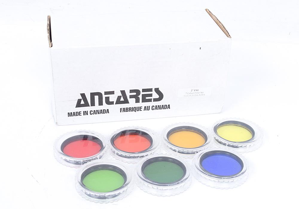 """Antares 2"""" 7 Piece Colour Filter Set - Vintage Japan"""