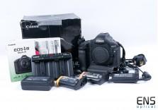 Canon EOS 1D Mark III 10.1MP DSLR Digital Camera Astronomy Modded - 9961 shots!