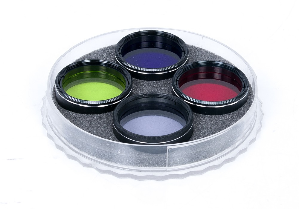 "1.25"" Colour Filter Set With Light Pollution Reduction Filter"