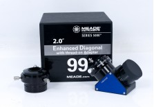 """Meade Series 5000 2"""" Diagonal With SCT & Thread-On Adapters"""