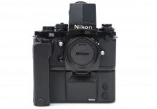 Nikon F3 US Navy! Rare 35mm film SLR Camera with DA-2 Telescopic finder 1841421