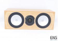 Monitor Audio Silver RX-LCR centre speaker for home cinema Oak