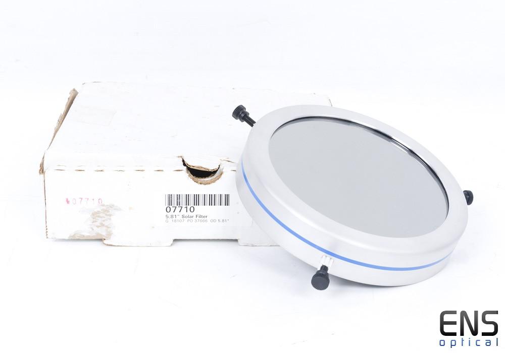 """5.81"""" ID Orion Full Aperture Solar Filter"""