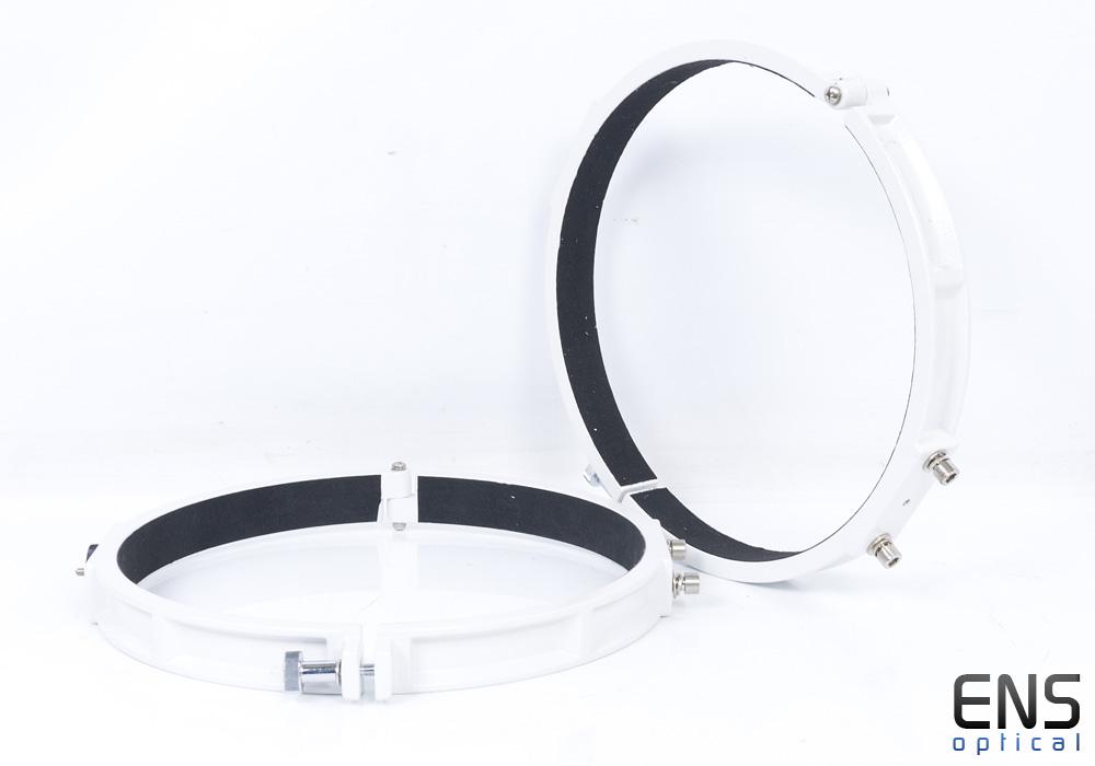 """Skywatcher 14"""" 358mm Telescope Tube Rings White"""