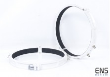 "Skywatcher 14"" 358mm Telescope Tube Rings White"