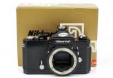 Nikon Nikkormat FT N 35mm film SLR Black camera body Boxed Superb! 4738400