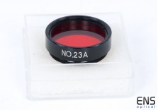 "Daylight Venus Mercury 1.25"" Red Filter No. 23A"