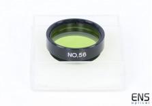 """1.25"""" Light Green Filter No.56"""