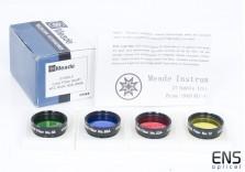 "Meade 1.25"" Colour Filter Set #1"
