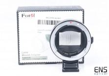 Fotodiox Lens Mount Adapter Pro EF-NEX Auto