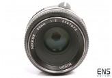 Nikon 50mm F2 Pre AI Standard Prime Manual Lens - 3267675