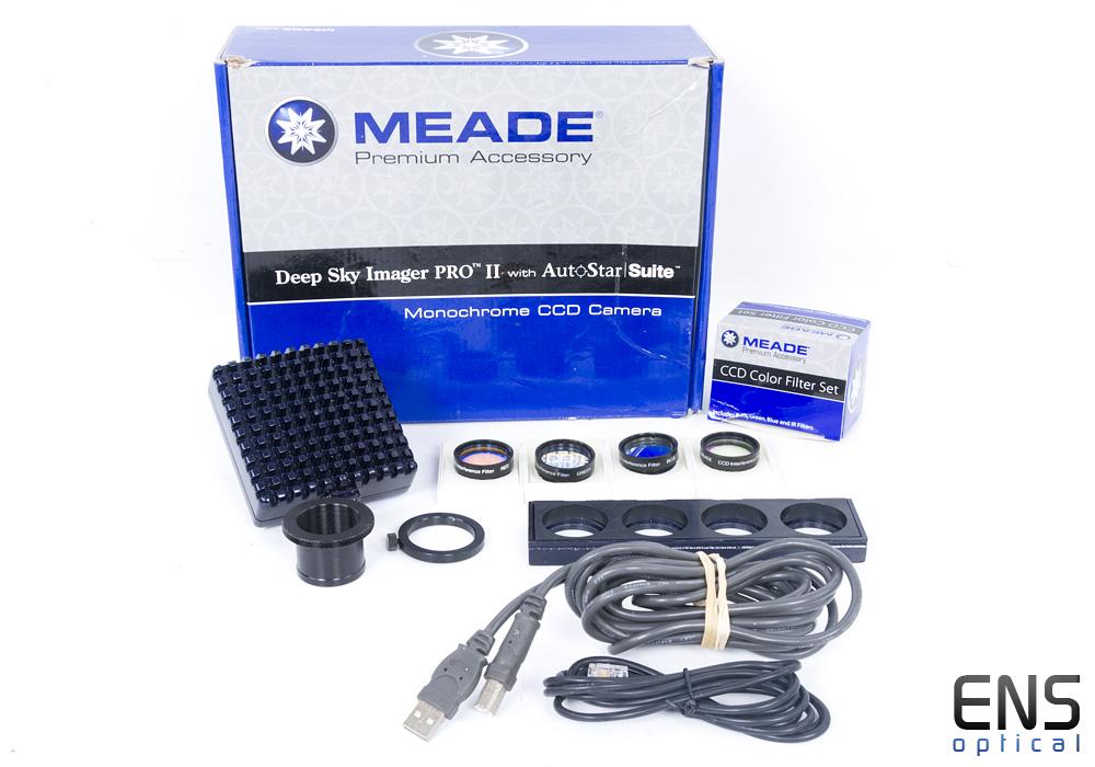 Meade DSI II 2 Pro Mono CCD Deep Sky Imaging Camera & Filter Slide (2)