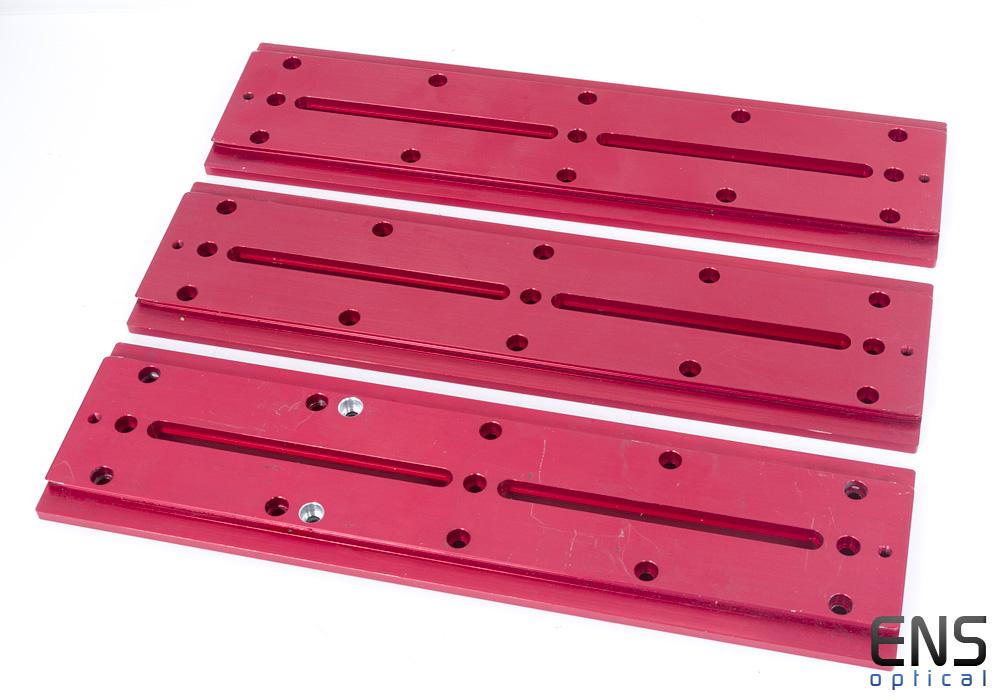 Mounting Hardware-  Large Losmandy Dovetail Bar Red