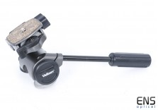 Velbon PH-157Q 3-Way Head with Quick Release - Black Handle