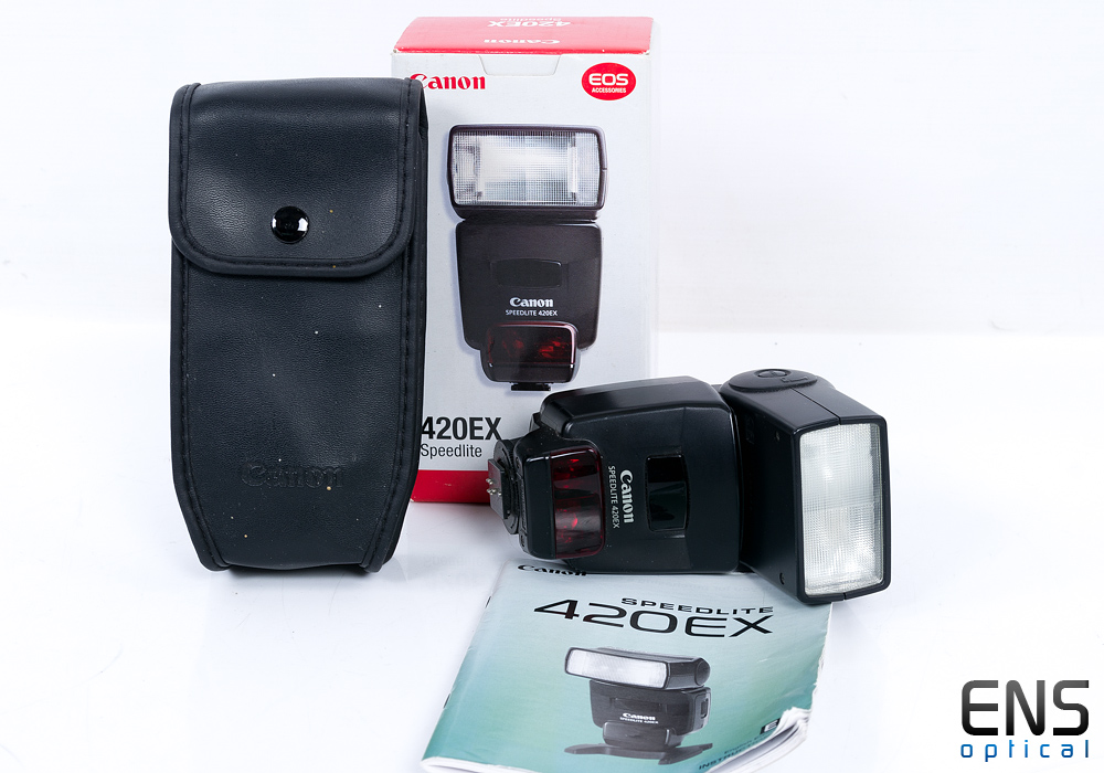 Canon Speedlite 420EX Hotshoe flashgun - Nice!