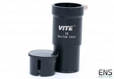 "VITE 5x Barlow Lens - 1.25"""