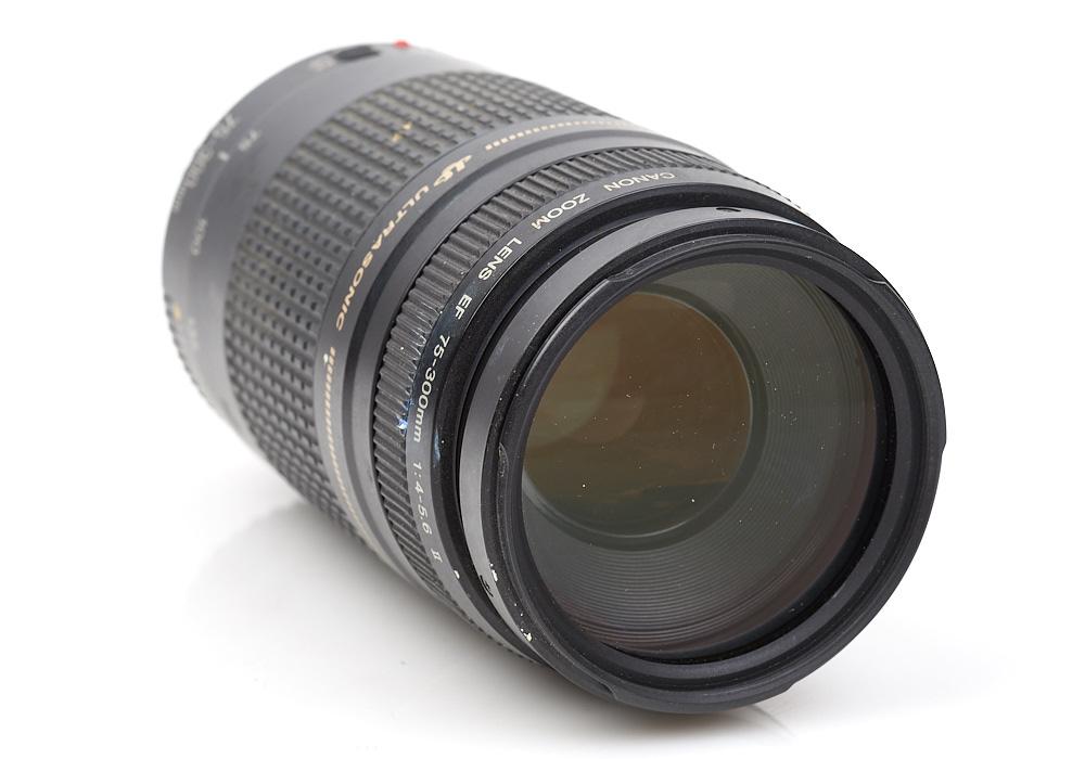 Canon EF 75-300mm f/4-5.6 II USM Ultasonic Macro Telephoto zoom lens 2307686D