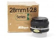 Nikon 28mm f/2.8 Ai-S Series E wide angle prime lens - **READ** Boxed 1948308