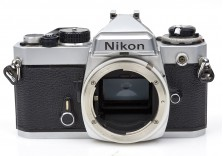 Nikon FE 35mm film SLR camera body **FOR PARTS** 3012510