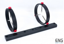 """Astro Developments M3 5"""" Guide Ringes and Plate"""