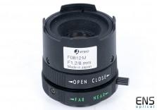 "ENEO 8mm f1.2 CCTV Lens  1/3"" CS Mount with Iris Control"