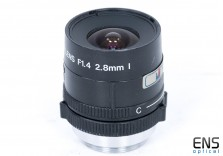 "Vantage 2.8mm f1.4 CCTV Lens  1/3"" CS Mount with Iris Control"