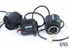 "Computar 2.6mm f1.6 CCTV Lens  1/3"" CS Mount with Iris Control"