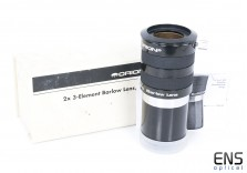 """Orion 2x 3-Element Apochromatic Barlow Lens 2"""" with 1.25"""" Adapter"""