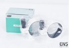 Borg #7060 60mm Tube Rings White  - New