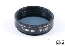 "Antares ND25 1.25"" Filter"