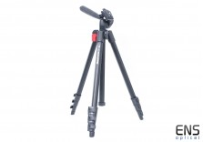 Manfrotto 718B Digi Tripod With Built-In 3 Way Pan/Tilt Head