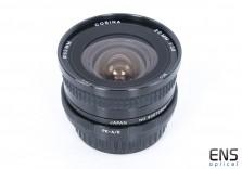 Cosina 20mm f/3.8 Ultra wide angle prime lens Pentax PKA/R - 90072998
