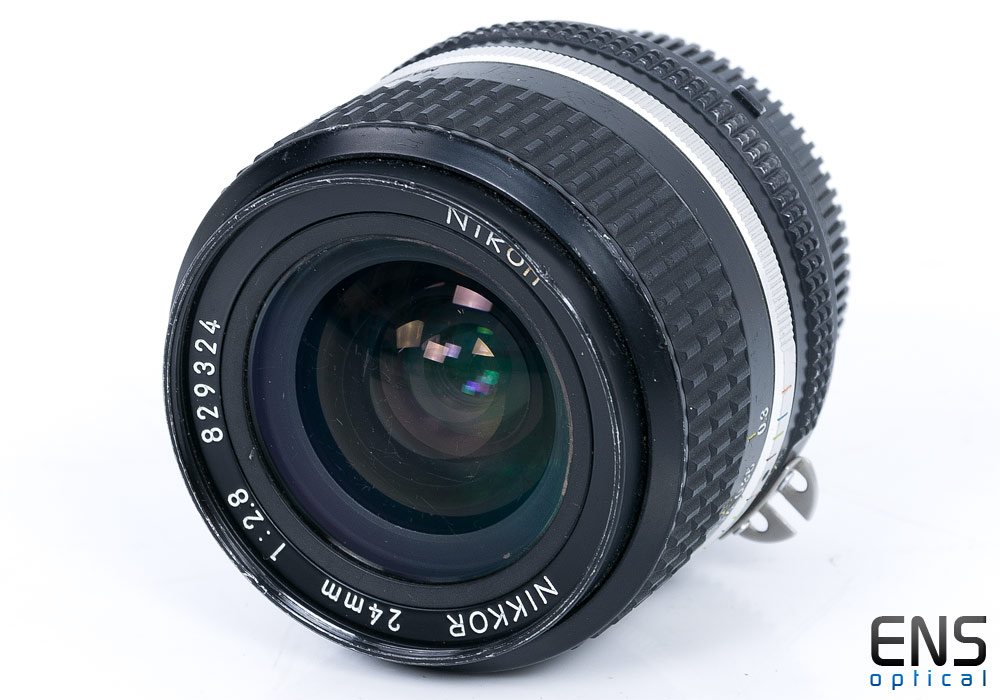 Nikon 24mm f/2.8 AiS Wideangle prime lens 829324