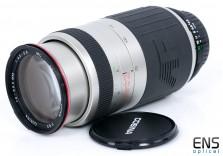 Cosina 70-300mm f/4.5-5.6 Zoom lens Nikon AF Fit