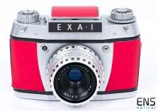 Exa 1 35mm Film Camera & 50mm F2.9 Ludwig Lens
